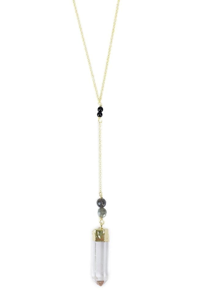 Quartz Pregnancy Necklace