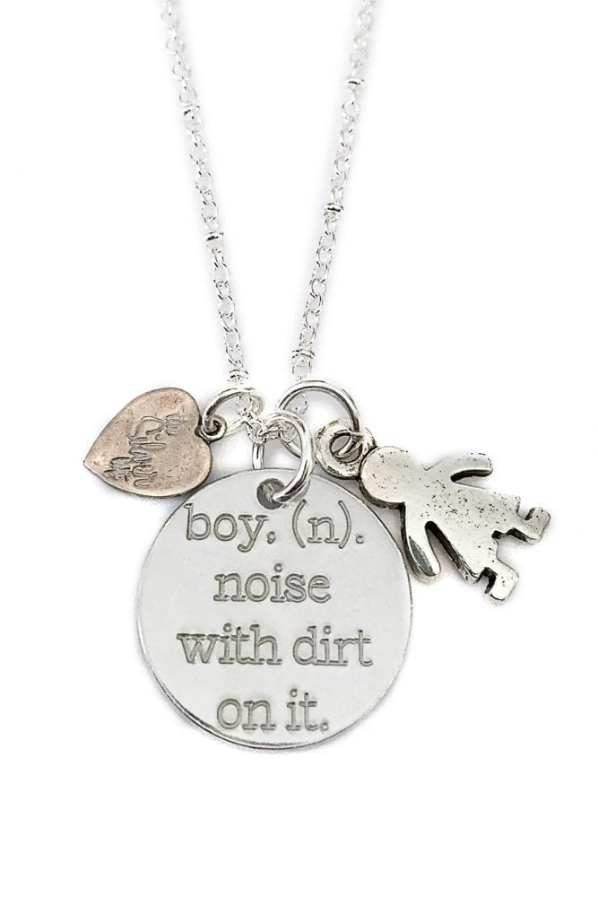 Boy Noun Necklace