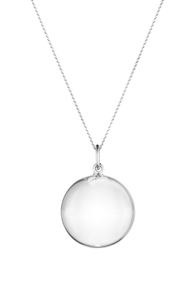 Chiming Pregnancy Necklace - Silver - Sexy Mama Maternity