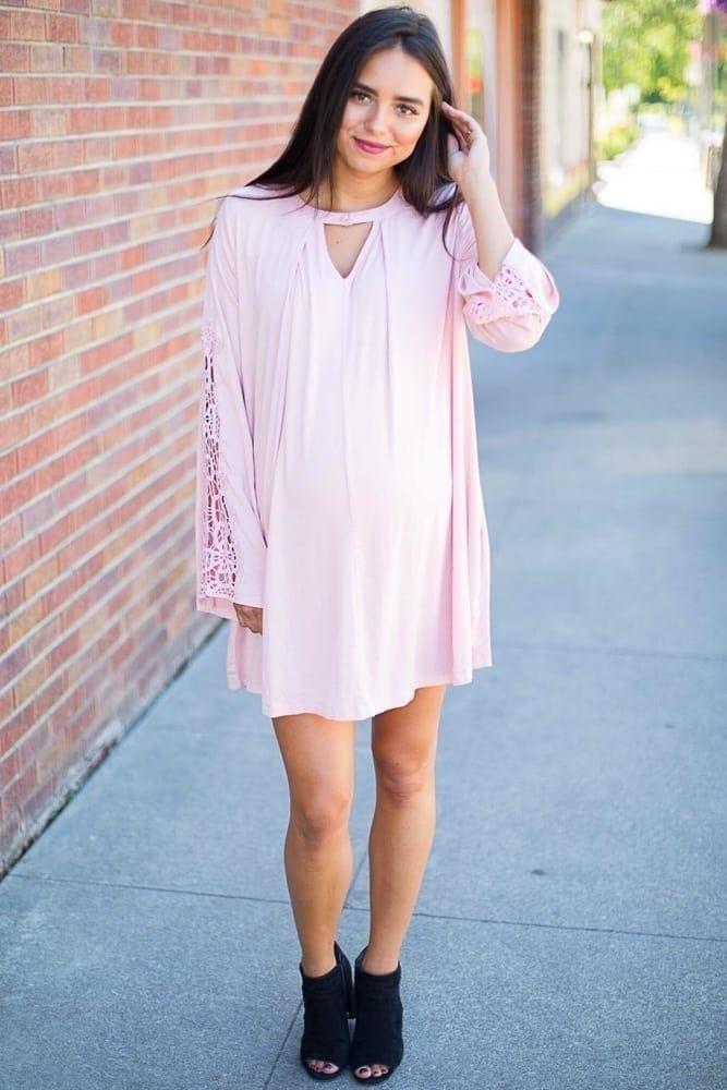 casual maternity dress