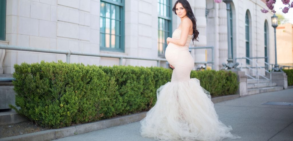 best maternity gowns